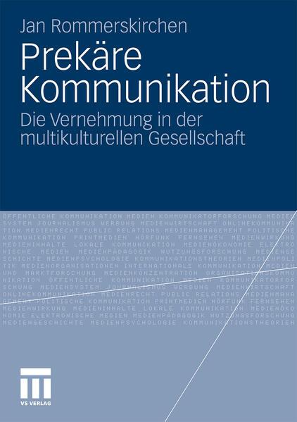 Prekäre Kommunikation - Coverbild