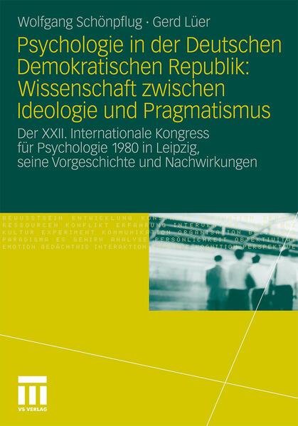 Psychologie in der Deutschen Demokratischen Republik: Wissenschaft zwischen Ideologie und Pragmatismus - Coverbild