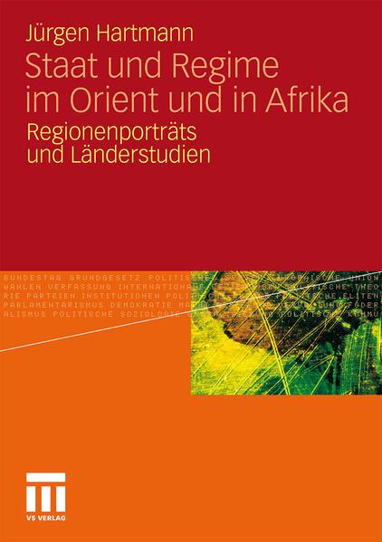 Staat und Regime im Orient und in Afrika - Coverbild