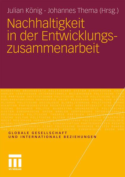 Nachhaltigkeit in der Entwicklungszusammenarbeit - Coverbild