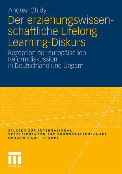 Der erziehungswissenschaftliche Lifelong Learning-Diskurs - Coverbild