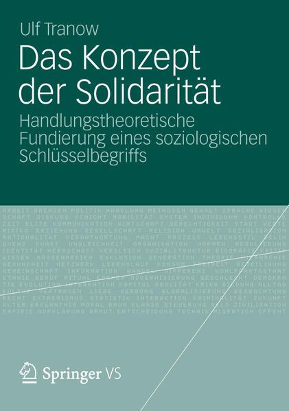 Das Konzept der Solidarität - Coverbild