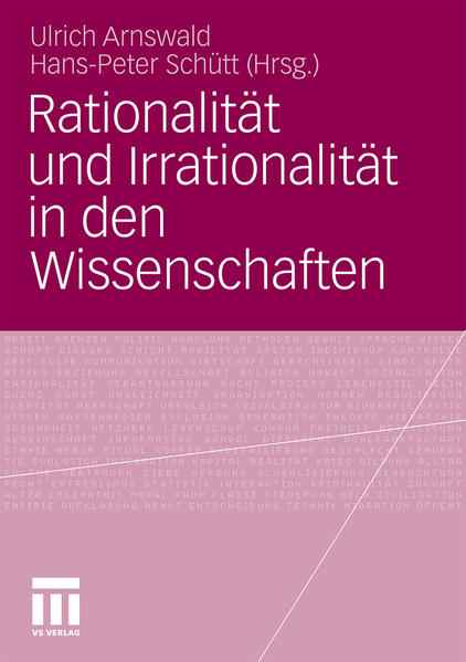Rationalität und Irrationalität in den Wissenschaften - Coverbild