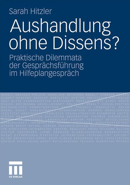 Aushandlung ohne Dissens? - Coverbild
