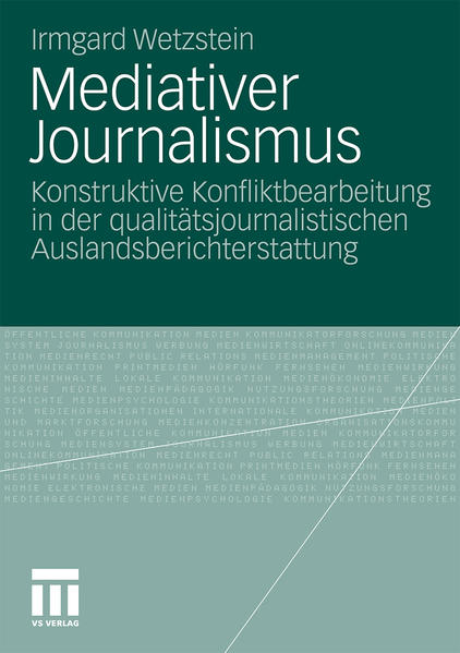 Mediativer Journalismus - Coverbild