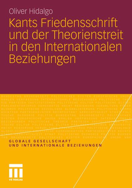 Kants Friedensschrift und der Theorienstreit in den Internationalen Beziehungen - Coverbild