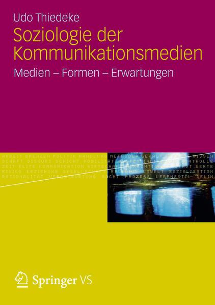 Soziologie der Kommunikationsmedien - Coverbild