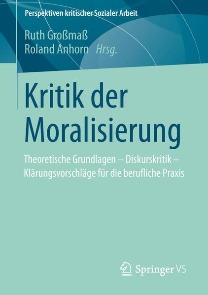 Kritik der Moralisierung - Coverbild