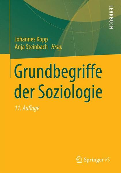 Grundbegriffe der Soziologie - Coverbild