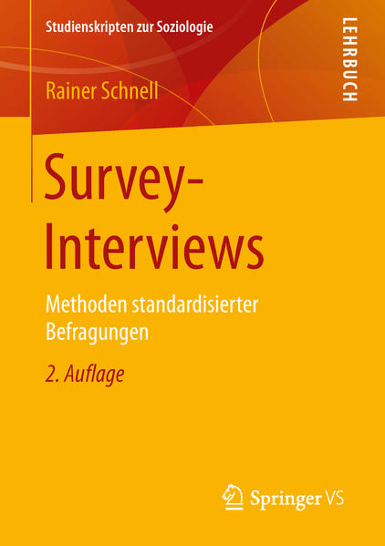 Survey-Interviews - Coverbild