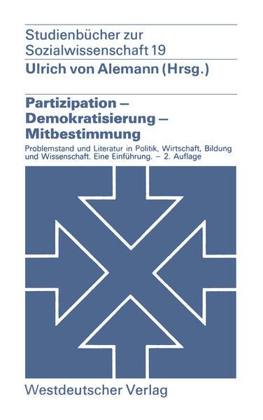 Partizipation — Demokratisierung — Mitbestimmung - Coverbild
