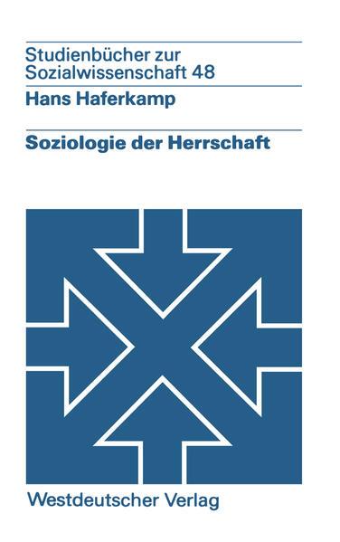 Soziologie der Herrschaft - Coverbild