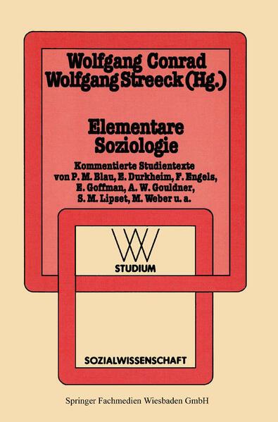 Elementare Soziologie - Coverbild