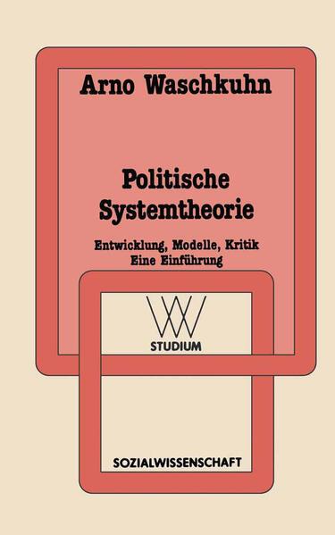 Politische Systemtheorie - Coverbild