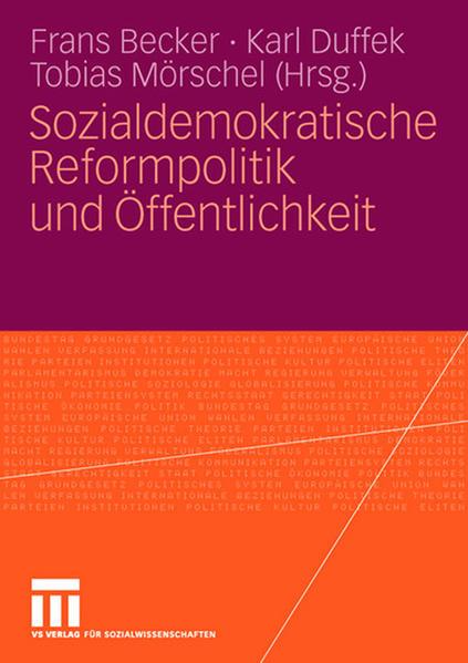 Sozialdemokratische Reformpolitik und Öffentlichkeit - Coverbild