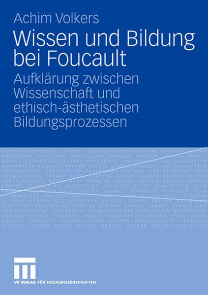 Wissen und Bildung bei Foucault - Coverbild