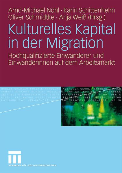 Kulturelles Kapital in der Migration PDF Jetzt Herunterladen