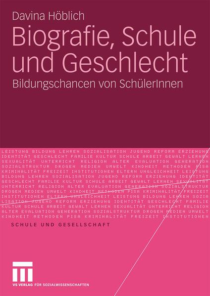 Biografie, Schule und Geschlecht - Coverbild