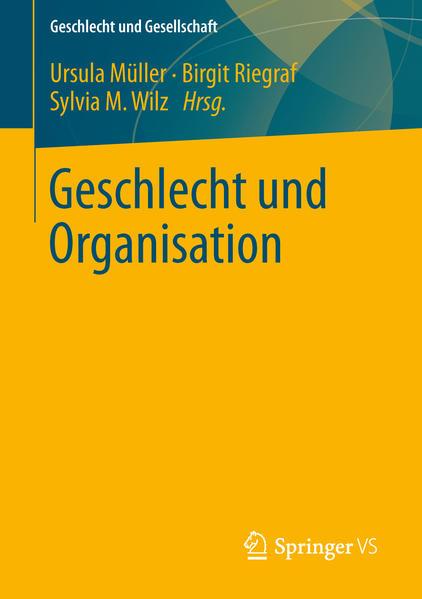 Geschlecht und Organisation - Coverbild