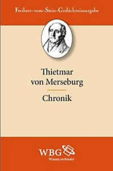 Thietmar von Merseburg. Chronik - Coverbild