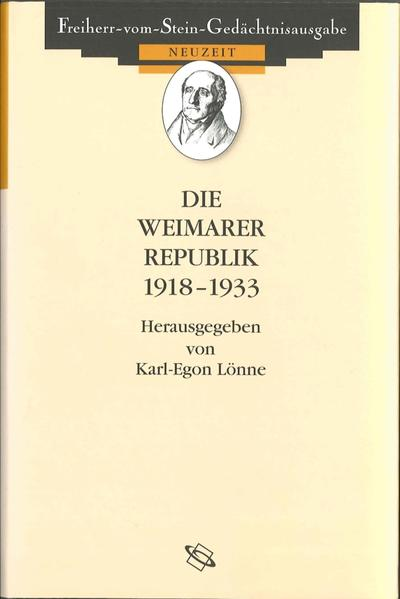 Die Weimarer Republik 1918-1933 - Coverbild