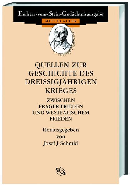 Quellen zur Geschichte des Dreißigjährigen Krieges - Coverbild