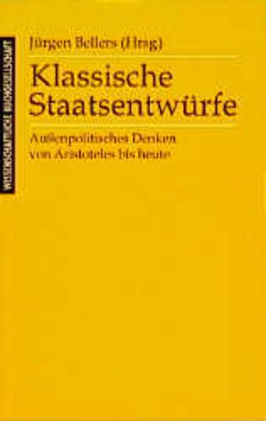 Klassische Staatsentwürfe - Coverbild