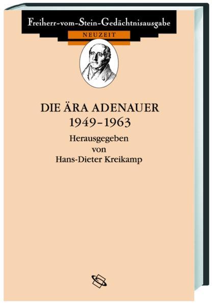 Die Ära Adenauer 1949-1963 - Coverbild