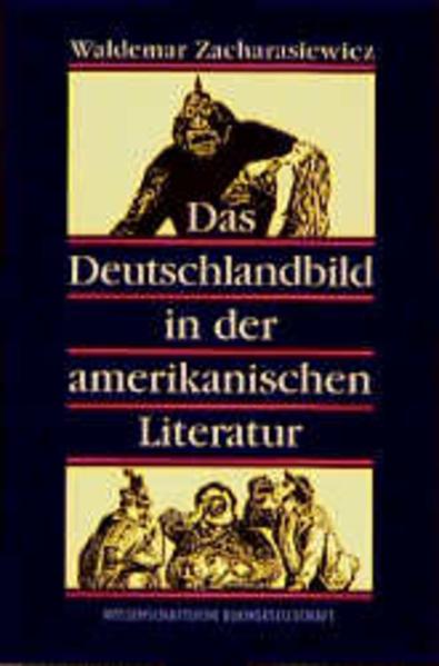 Das Deutschlandbild in der amerikanischen Literatur - Coverbild