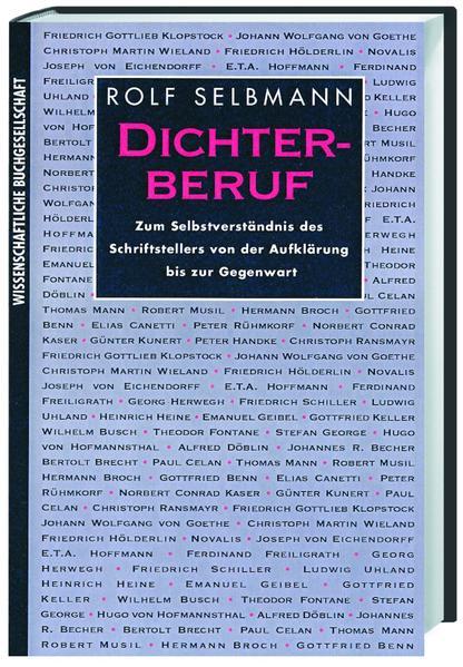 Dichterberuf - Coverbild