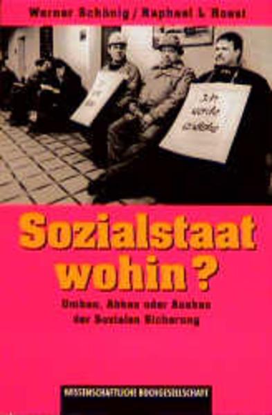 Sozialstaat wohin? - Coverbild