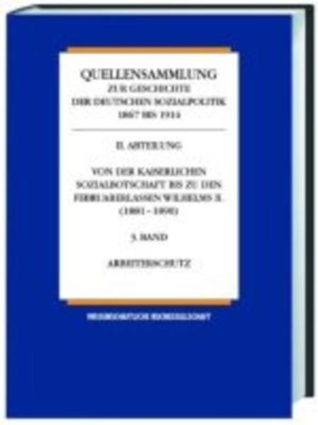 Quellensammlung zur Geschichte der deutschen Sozialpolitik 1867-1914 / Einführungsband - Coverbild