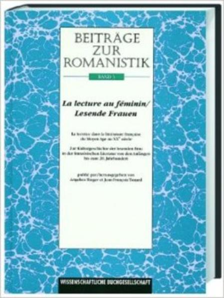 Beiträge zur Romanistik / La lecture au feminin /Lesende Frauen - Coverbild