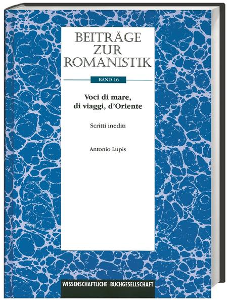 Beiträge zur Romanistik / Voci di  Mare, di viaggi, d'Oriente - Coverbild