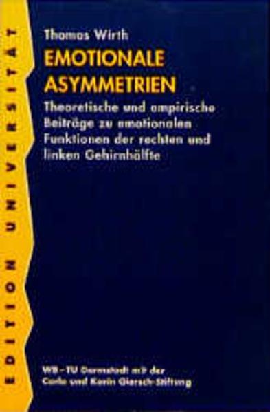 Emotionale Asymmetrien - Coverbild