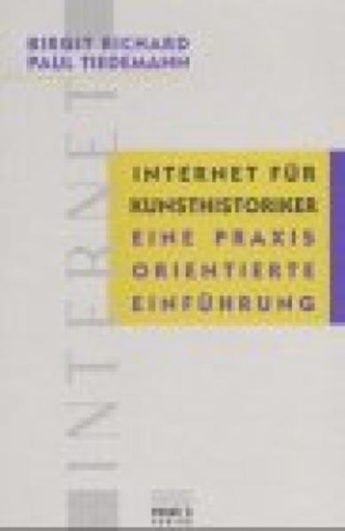 Internet für Kunsthistoriker - Coverbild