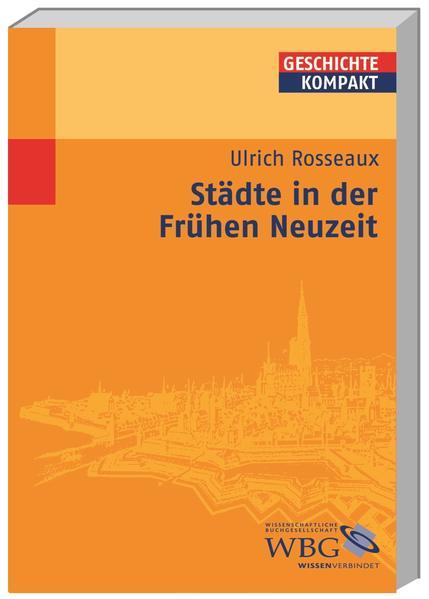 Städte in der Frühen Neuzeit - Coverbild