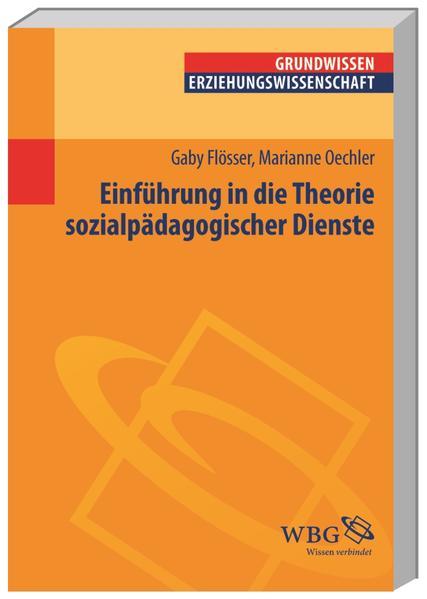 Einführung in die Theorie sozialpädagogischer Dienste - Coverbild