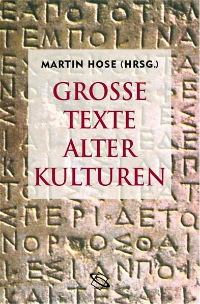 Grosse Texte alter Kulturen - Coverbild