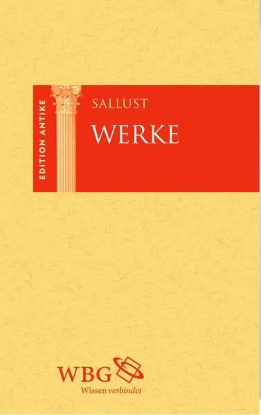 Sallust Werke - Coverbild