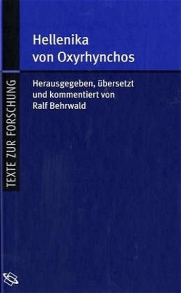 Hellenika von Oxyrhynchos - Coverbild