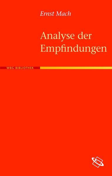 Die Analyse der Empfindungen und das Verhältnis des Physischen zum Psychischen - Coverbild