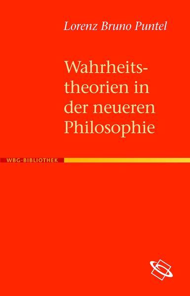 Wahrheitstheorien in der neueren Philosophie - Coverbild