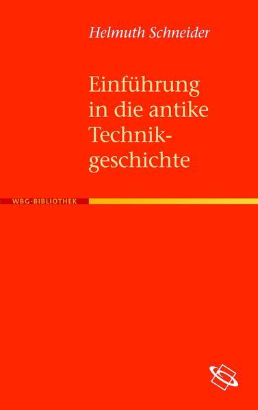 Einführung in die antike Technikgeschichte - Coverbild