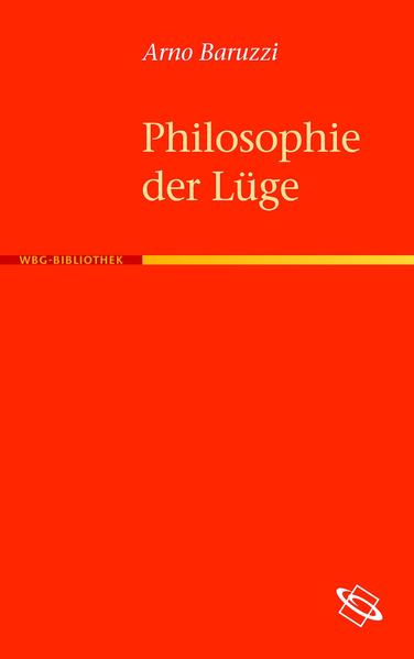 Philosophie der Lüge - Coverbild