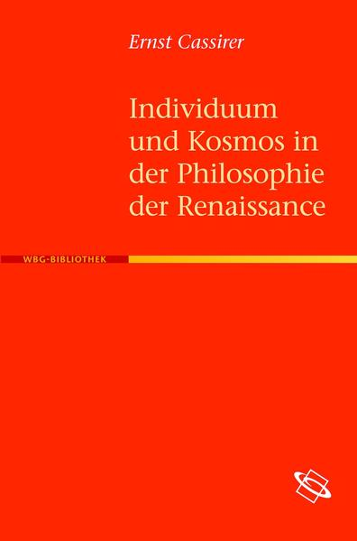 Individuum und Kosmos in der Philosophie der Renaissance - Coverbild