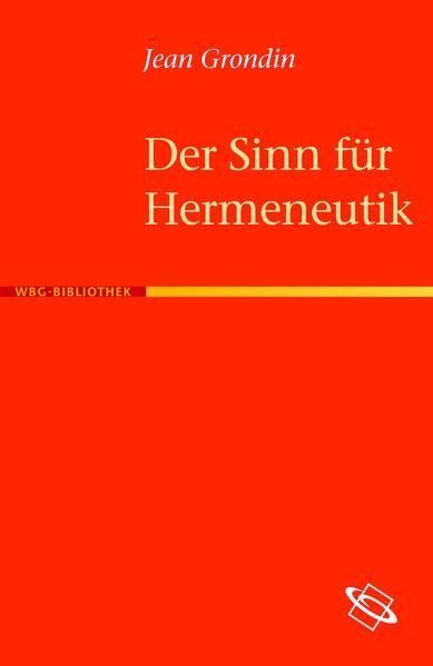 Der Sinn für Hermeneutik - Coverbild