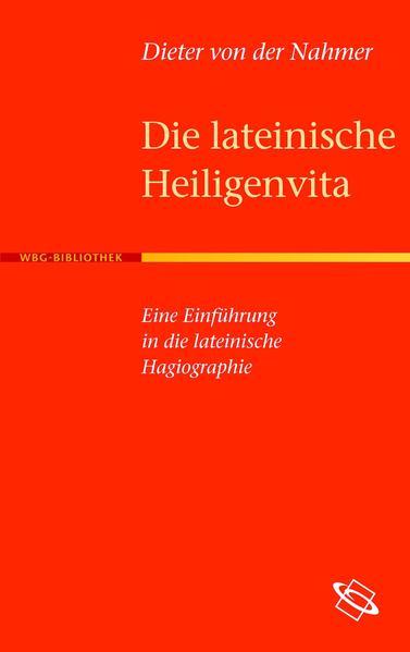 Die lateinische Heiligenvita - Coverbild