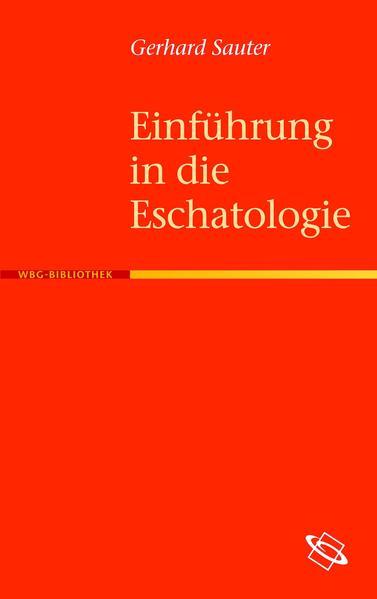 Einführung in die Eschatologie - Coverbild