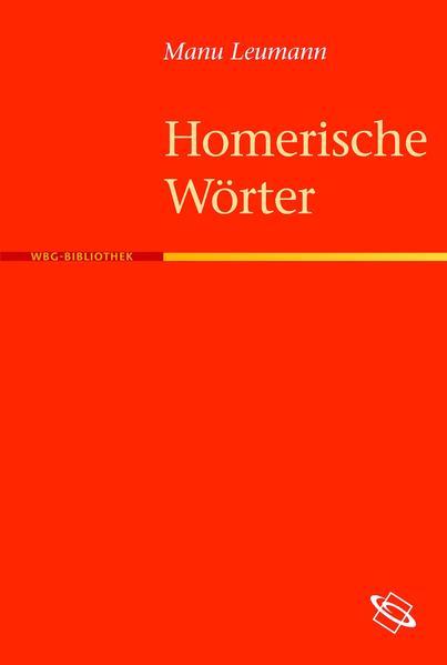 Homerische Wörter - Coverbild